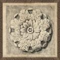 """Medallion 1 Framed Art Print - 50""""W x 50""""H, 92631"""