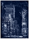 "City Inverted 2 Framed Canvas Art Print - 50""W x 66""H, 92653"