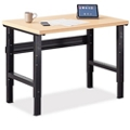 "Annex Industrial Adjustable Standing Height Compact Desk - 48""W , 14330"
