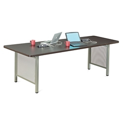 "At Work Angled Media Table - 96""W x 36""H, 46298"