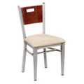 Frappe Cafe Chair with Clear Coat, 44292