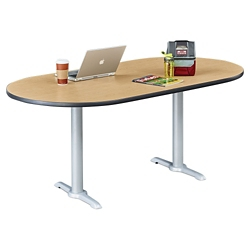 "Frappe Oval Table - 72""W , 46017"