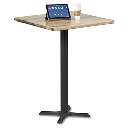 "Rustico Solid Wood Top Bar Height Table - 36""W, 46055"