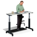 "Lift Adjustable Height Table - 59""W, 46059"