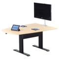 """Eleve Adjustable Height Media Table - 72""""x 42"""", 46097"""