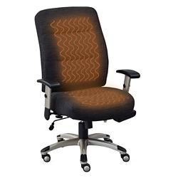 Heated Fabric Task Chair, 57149