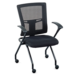 Perspective Mesh Back Nesting Chair, 51038