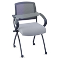Nex Mesh Back Fabric Nesting Chair with Tablet, 51053