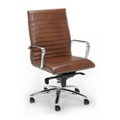 Harper Bonded Leather Conference Chair, 52412