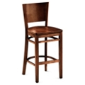Rustico Solid Wood Café Stool, 55615