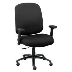 Extra Big & Tall Fabric Chair with Arms, 56611