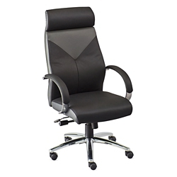 Highland Two Tone Leather Executive Chair, 56638