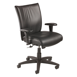 Vinyl Mid-Back Manager's Chair, 57122