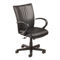 High Back Vinyl Conference Chair, 57133