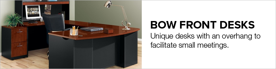 Bow Front Desks
