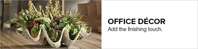 Modern Décor Items U2013 Decorative Workplace Inspirations. Professional Office  ...