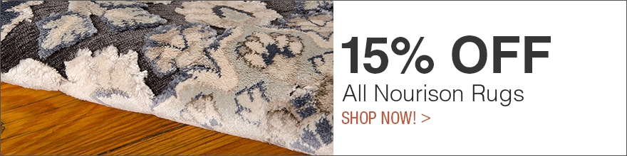 10% Off All Nourison Rugs - Office Decor