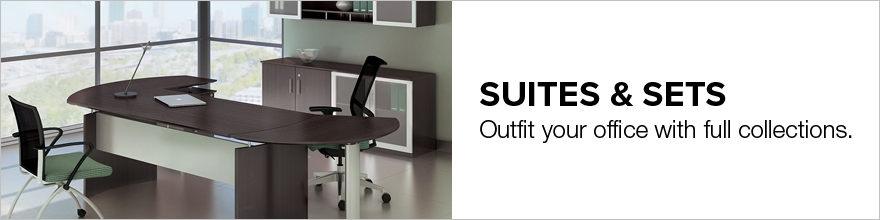 home office set. Looking For A Matching Set That You Can Use To Outfit Your Entire Executive Or Home Office? These Office Furniture Suites Take Most Of The Work Out
