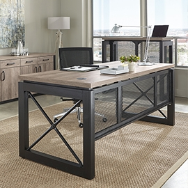 Office table furniture Counter Office Desks The Home Depot Business Furniture Desks Chairs More Wlifetime Guarantee Nbf