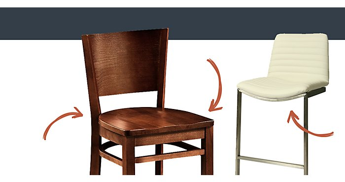 What is the Difference Between Counter and Bar Height Stools | NBF Blog
