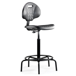 Armless Stool with Spider Base, 56914