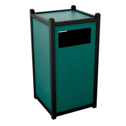 Single Sideload Waste Bin with 32 Gallon Capacity, 85452