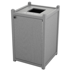 Single Topload Waste Bin with 26 Gallon Capacity, 85458