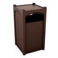 Triple Sideload Arch Waste Bin with 26 Gallon Capacity, 85469