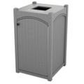 Single Topload Bead Board Waste Bin with 32 Gallon Capacity, 85549