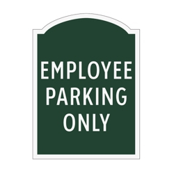 Employee Parking Only Outdoor Sign, 91964