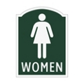 Women Restroom Sign, 91966