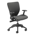 Mesh Ergonomic Office Chair with Black Frame, 57010