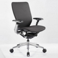 Mid-Back Mesh Ergonomic Computer Chair with Black Frame, 57016