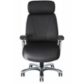 Fabric Executive Chair with Chrome Frame, 57126