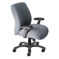 Fabric Ergonomic Chair with Chrome Frame, 57130