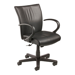 Mid Back Vinyl Task Chair, 57135