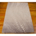 kathy ireland by Nourison Abstract Wave Print Area Rug - 8'W x 10.5'D, 82191