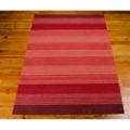 kathy ireland by Nourison Striped Area Rug - 5.25'W x 7.42'D, 82196