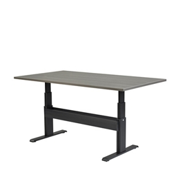 "Meridian Adjustable Height Conference Rectangular Table - 84""W x 42""D, 46112"