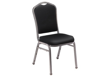 Vinyl Padded Stack Chair, 51675