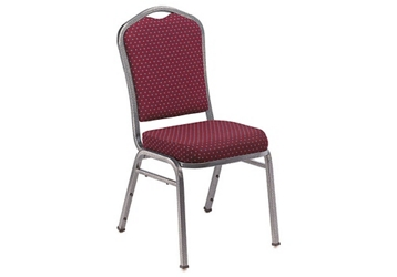 Fabric Padded Stack Chair, 51676