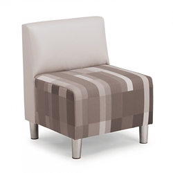 "Armless Fabric Chair - 24.25""W, 76507"