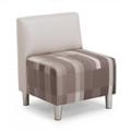 "Armless Fabric Chair - 24.25""W, 76507"