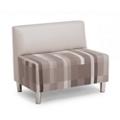 "Armless Fabric Chair - 36.25""W, 76509"