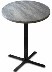 "36"" Round Indoor/Outdoor Table - 42""H, 42121"