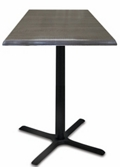 "30"" Square Indoor/Outdoor Table - 36""H, 42116"