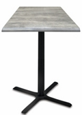 "30"" Square Indoor/Outdoor Table - 30""H, 42112"
