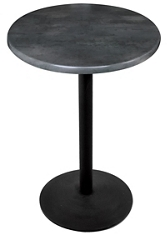 "30"" Round Indoor/Outdoor Table - 30""H, 42123"