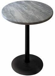 "30"" Round Indoor/Outdoor Table - 42""H, 42131"