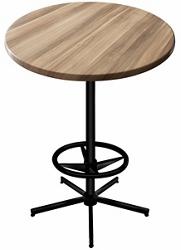 "36"" Round Indoor/Outdoor Table - 42""H, 42137"